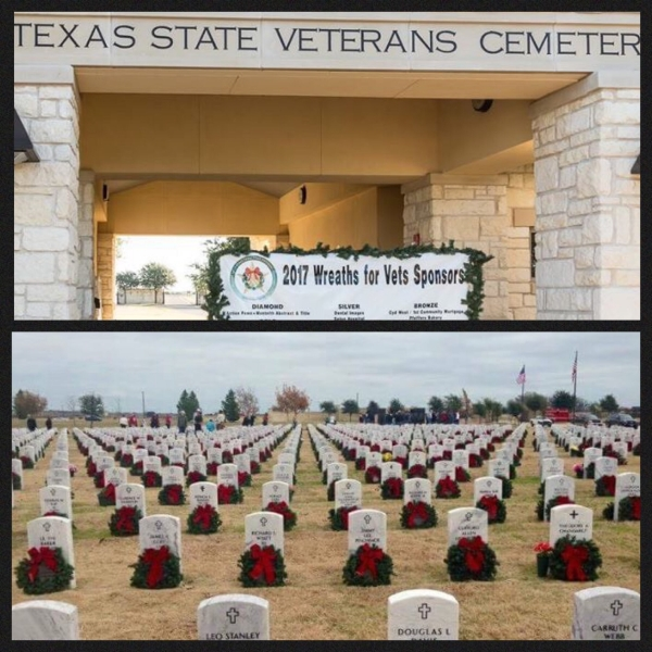 Star Group Veterans Helping Veterans participates in 2017 Wreaths for Vets